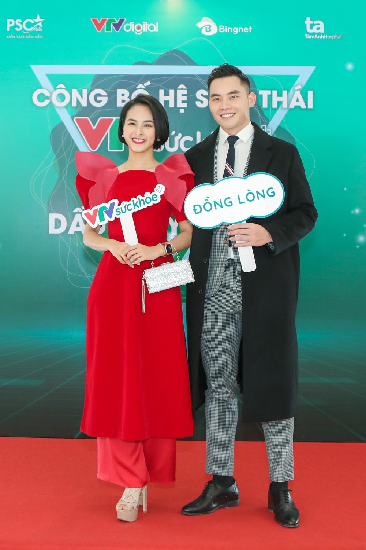 BTV Thu Hương và dàn MC rạng rỡ tại lễ công bố Hệ sinh thái VTV Sức khỏe - ảnh 3