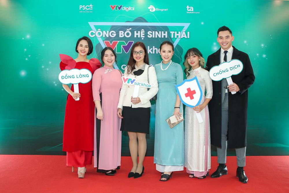 BTV Thu Hương và dàn MC rạng rỡ tại lễ công bố Hệ sinh thái VTV Sức khỏe - ảnh 12