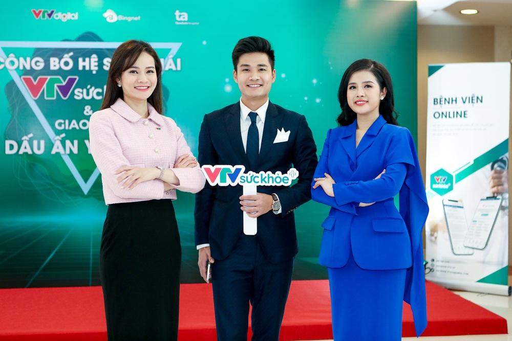 BTV Thu Hương và dàn MC rạng rỡ tại lễ công bố Hệ sinh thái VTV Sức khỏe - ảnh 4