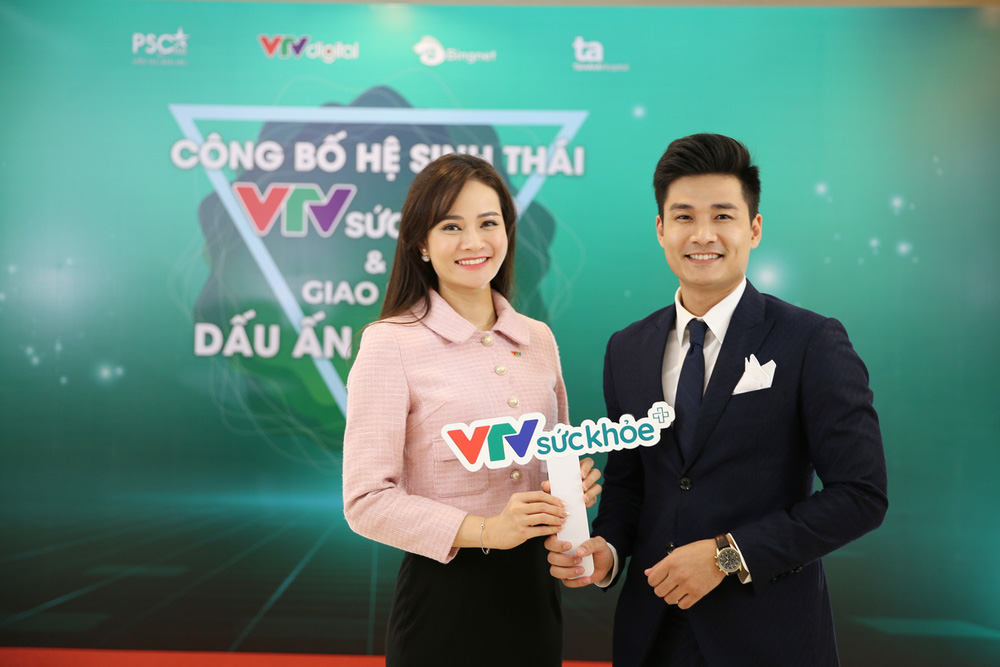 BTV Thu Hương và dàn MC rạng rỡ tại lễ công bố Hệ sinh thái VTV Sức khỏe - ảnh 6