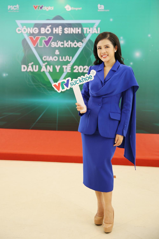 BTV Thu Hương và dàn MC rạng rỡ tại lễ công bố Hệ sinh thái VTV Sức khỏe - ảnh 8