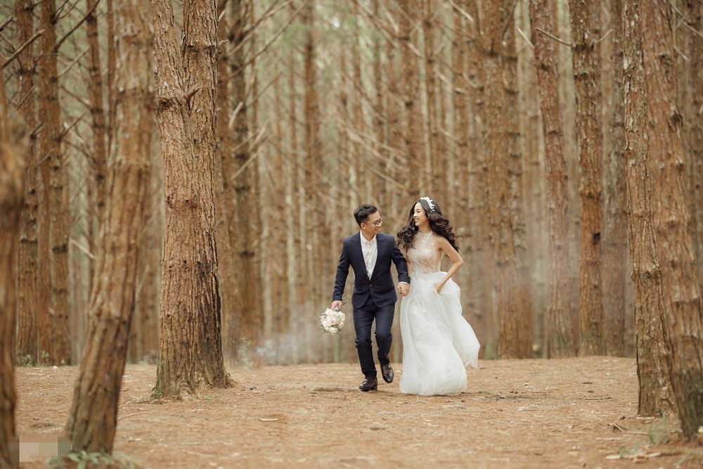 Ảnh cưới tại Đà Lạt ngọt hơn mật của Á hậu Thúy An - Ảnh 9.