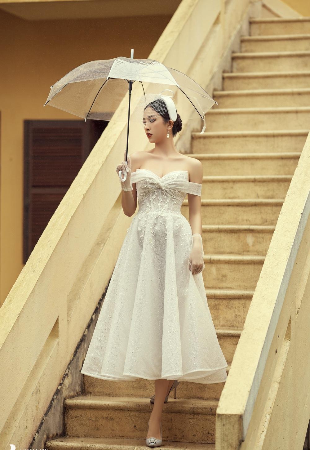 Ảnh cưới tại Đà Lạt ngọt hơn mật của Á hậu Thúy An - Ảnh 5.
