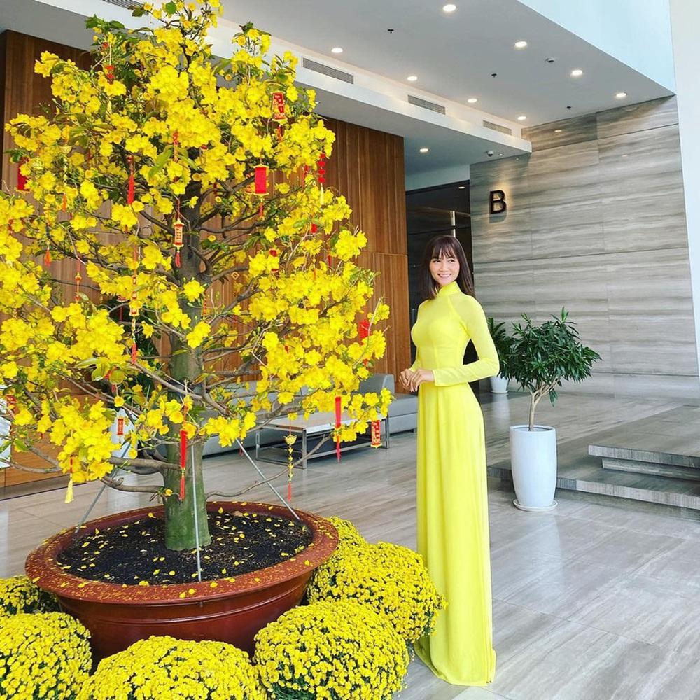 Đỗ Thị Hà và dàn Hoa hậu diện áo dài đầu xuân, ai cũng xinh đẹp ngút ngàn - Ảnh 16.