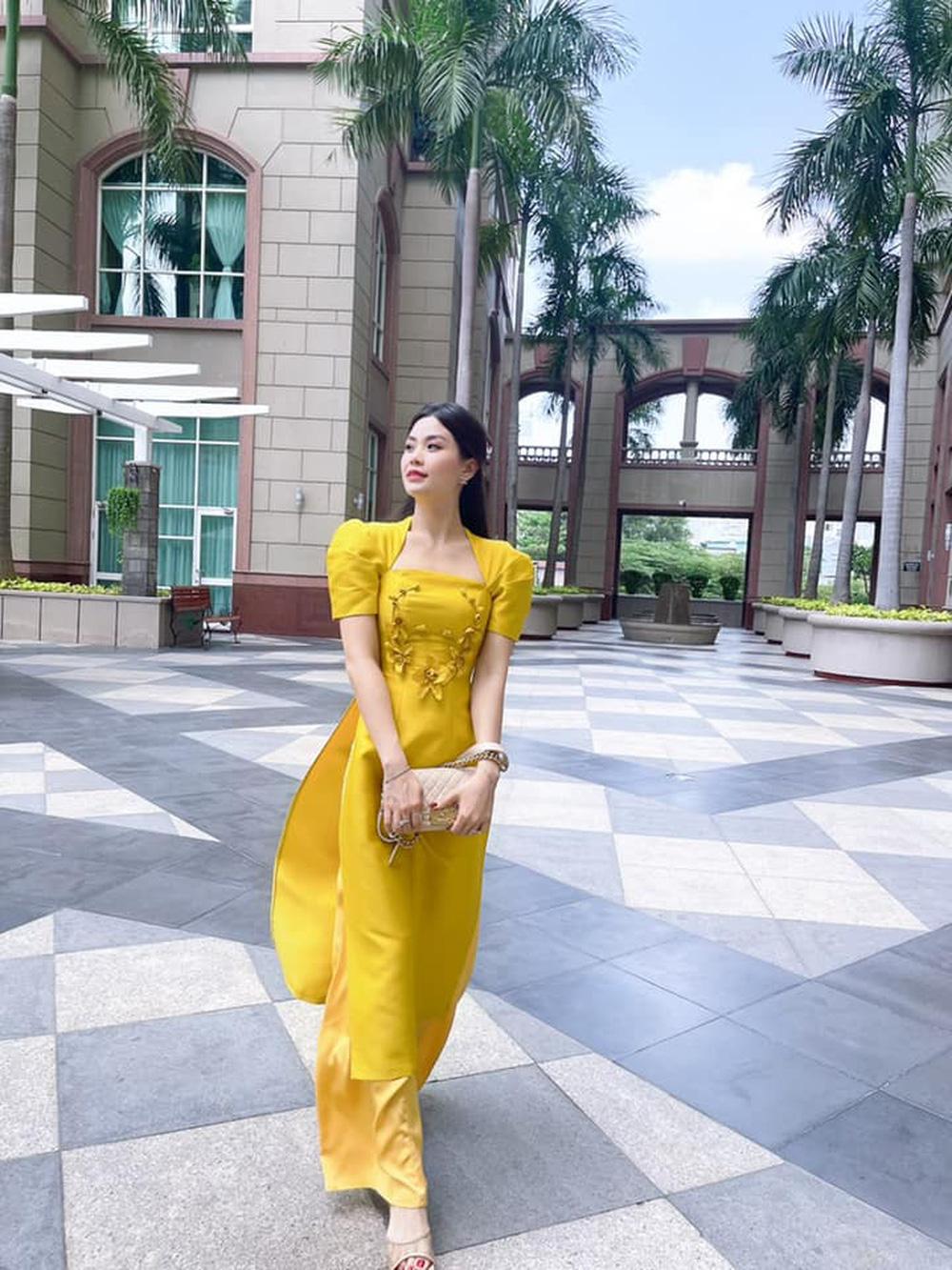 Đỗ Thị Hà và dàn Hoa hậu diện áo dài đầu xuân, ai cũng xinh đẹp ngút ngàn - Ảnh 11.