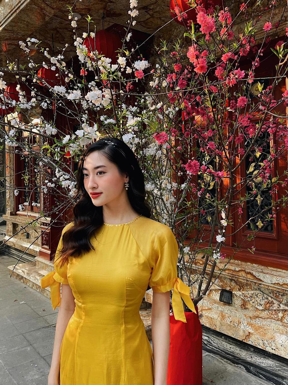 Đỗ Thị Hà và dàn Hoa hậu diện áo dài đầu xuân, ai cũng xinh đẹp ngút ngàn - Ảnh 6.