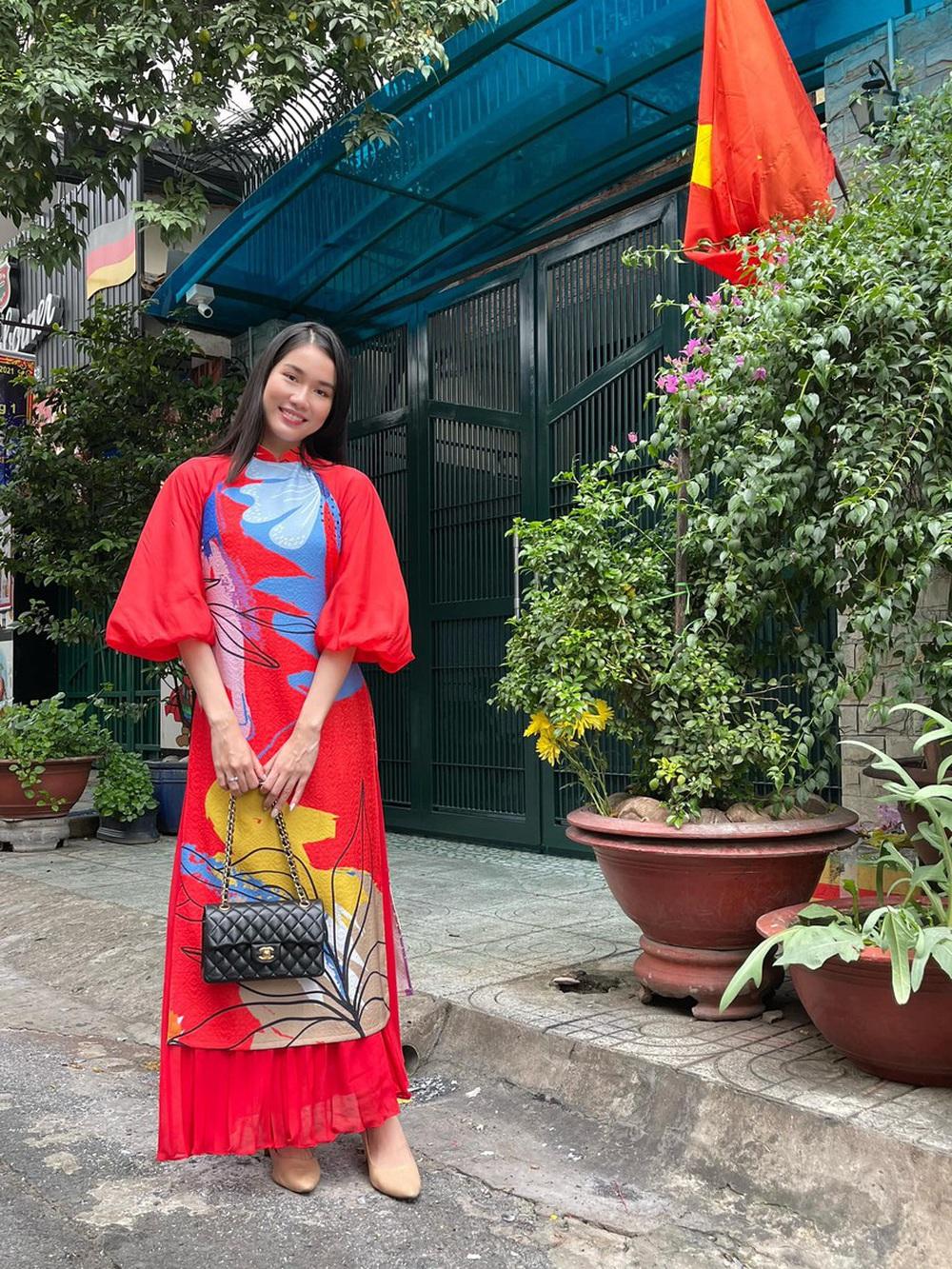 Đỗ Thị Hà và dàn Hoa hậu diện áo dài đầu xuân, ai cũng xinh đẹp ngút ngàn - Ảnh 15.