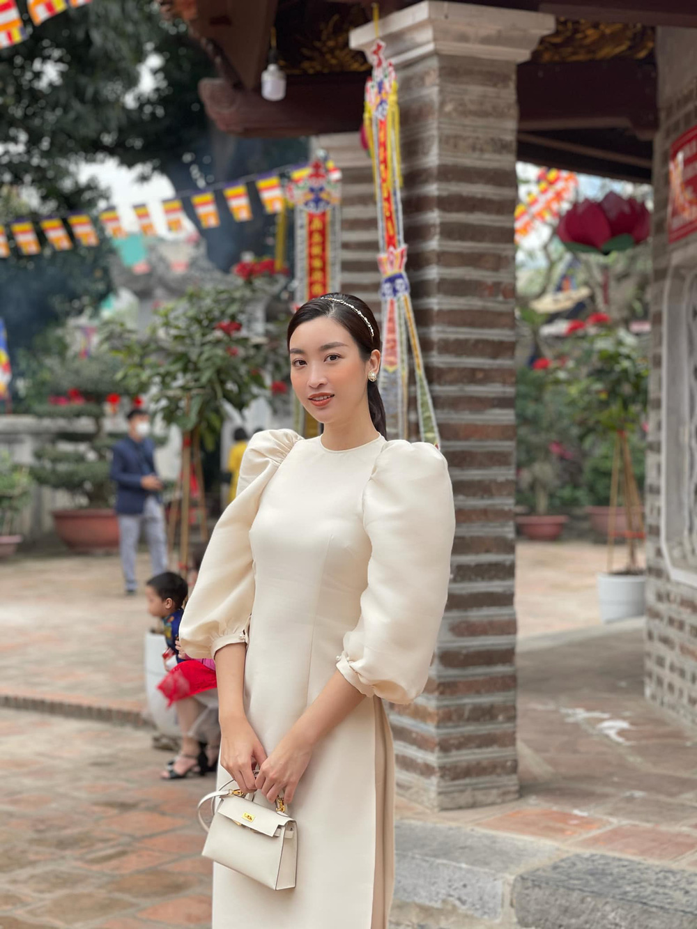 Đỗ Thị Hà và dàn Hoa hậu diện áo dài đầu xuân, ai cũng xinh đẹp ngút ngàn - Ảnh 3.