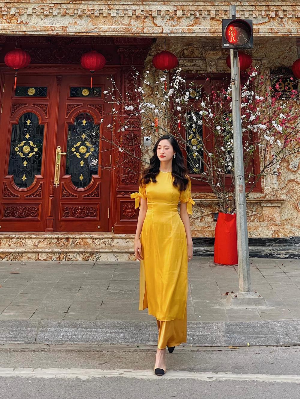 Đỗ Thị Hà và dàn Hoa hậu diện áo dài đầu xuân, ai cũng xinh đẹp ngút ngàn - Ảnh 5.