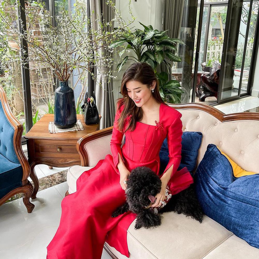 Đỗ Thị Hà và dàn Hoa hậu diện áo dài đầu xuân, ai cũng xinh đẹp ngút ngàn - Ảnh 10.