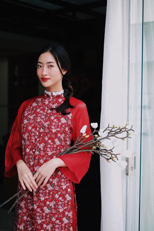 Đỗ Thị Hà và dàn Hoa hậu diện áo dài đầu xuân, ai cũng xinh đẹp ngút ngàn - Ảnh 8.