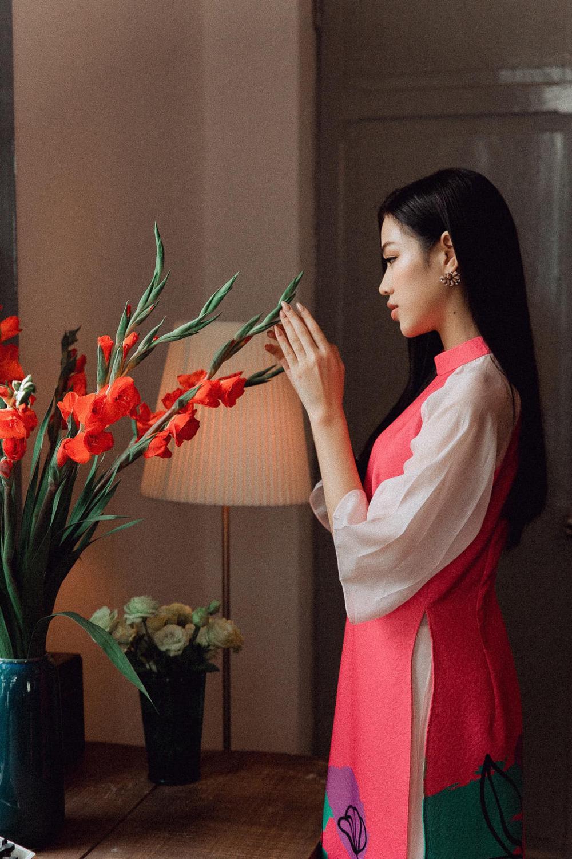 Đỗ Thị Hà và dàn Hoa hậu diện áo dài đầu xuân, ai cũng xinh đẹp ngút ngàn - Ảnh 2.