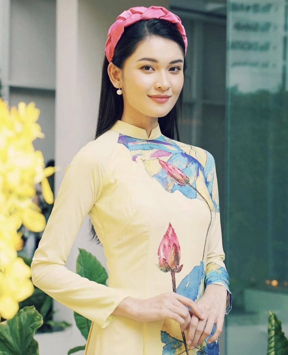 Đỗ Thị Hà và dàn Hoa hậu diện áo dài đầu xuân, ai cũng xinh đẹp ngút ngàn - Ảnh 13.