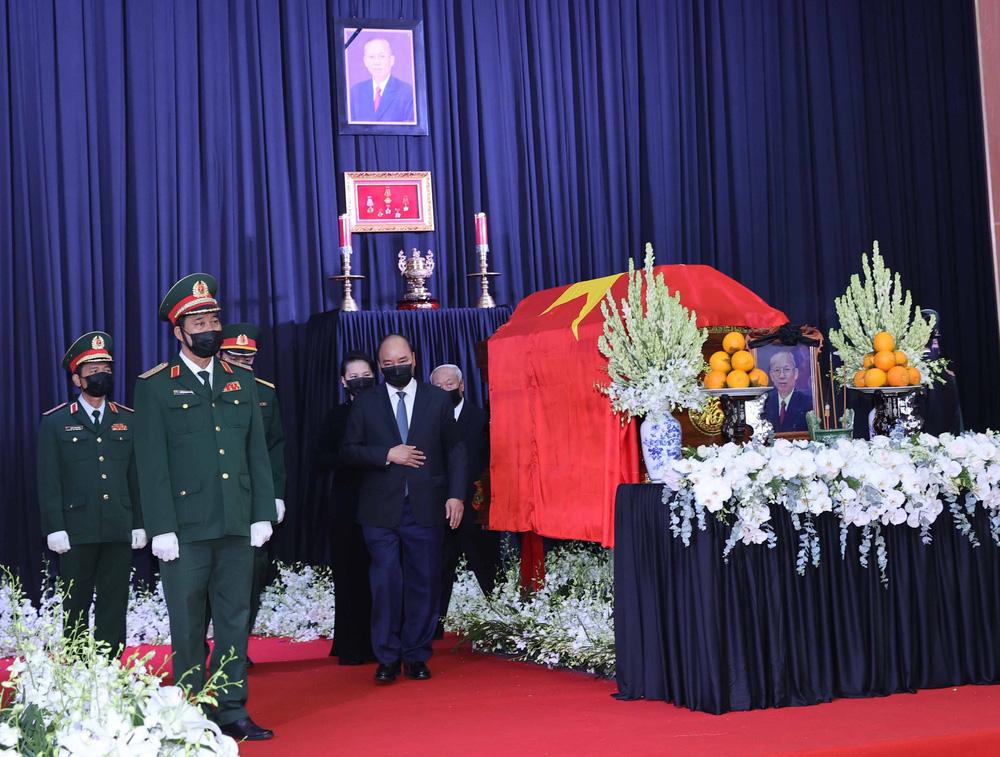 [ẢNH] Lễ viếng nguyên Phó Thủ tướng Trương Vĩnh Trọng tại Hà Nội và Bến Tre - Ảnh 15.