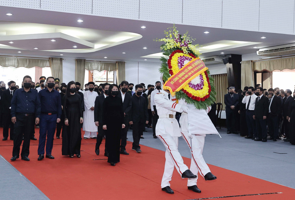 [ẢNH] Lễ viếng nguyên Phó Thủ tướng Trương Vĩnh Trọng tại Hà Nội và Bến Tre - Ảnh 26.