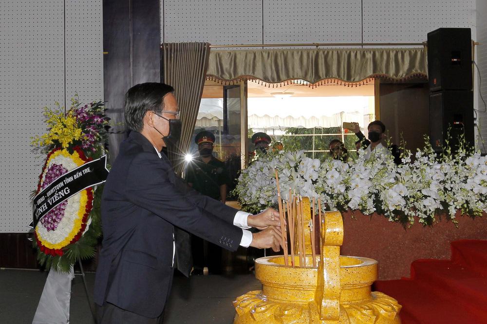 [ẢNH] Lễ viếng nguyên Phó Thủ tướng Trương Vĩnh Trọng tại Hà Nội và Bến Tre - Ảnh 18.