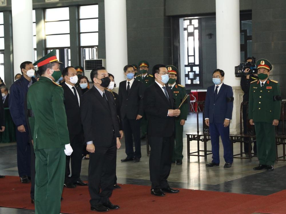 [ẢNH] Lễ viếng nguyên Phó Thủ tướng Trương Vĩnh Trọng tại Hà Nội và Bến Tre - Ảnh 4.
