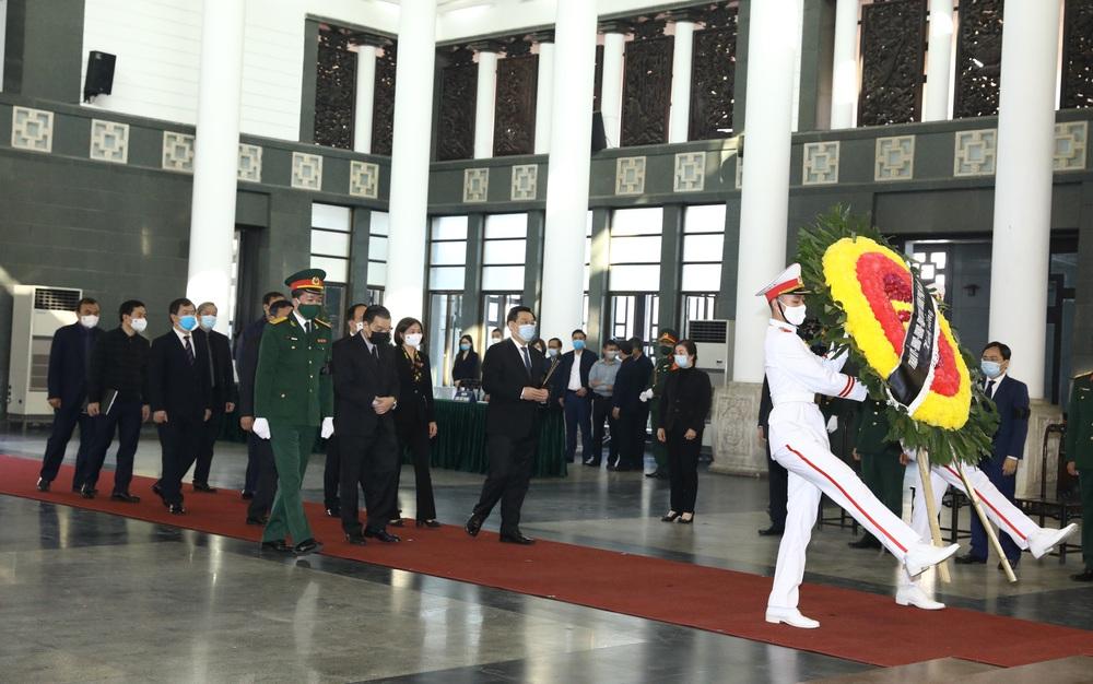 [ẢNH] Lễ viếng nguyên Phó Thủ tướng Trương Vĩnh Trọng tại Hà Nội và Bến Tre - Ảnh 3.