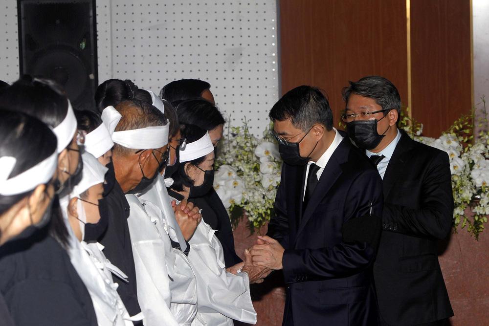[ẢNH] Lễ viếng nguyên Phó Thủ tướng Trương Vĩnh Trọng tại Hà Nội và Bến Tre - Ảnh 23.