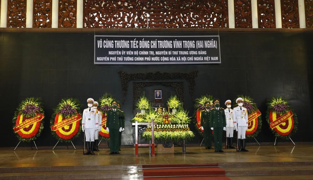 [ẢNH] Lễ viếng nguyên Phó Thủ tướng Trương Vĩnh Trọng tại Hà Nội và Bến Tre - Ảnh 2.