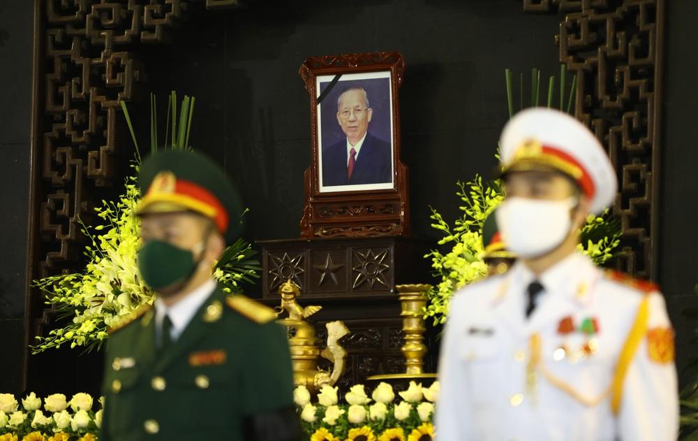 [ẢNH] Lễ viếng nguyên Phó Thủ tướng Trương Vĩnh Trọng tại Hà Nội và Bến Tre - Ảnh 1.