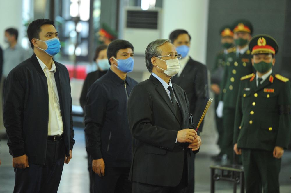 [ẢNH] Lễ viếng nguyên Phó Thủ tướng Trương Vĩnh Trọng tại Hà Nội và Bến Tre - Ảnh 8.