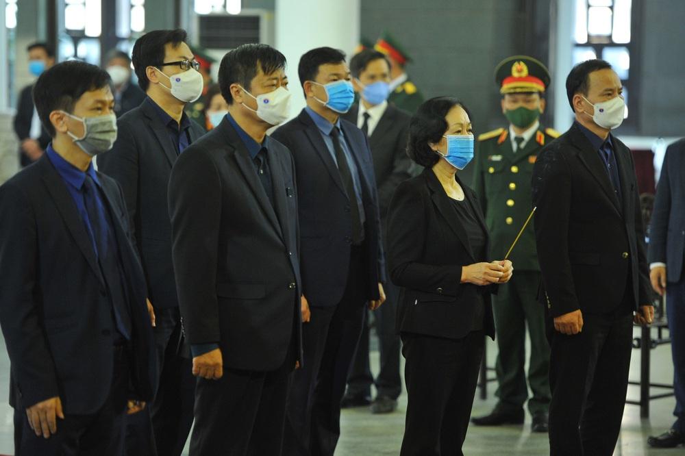 [ẢNH] Lễ viếng nguyên Phó Thủ tướng Trương Vĩnh Trọng tại Hà Nội và Bến Tre - Ảnh 7.