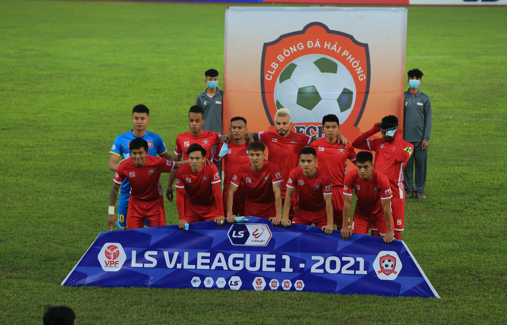 ẢNH: Đánh bại CLB Hải Phòng, CLB Hà Nội có chiến thắng đầu tiên tại V.League 2021 - Ảnh 1.