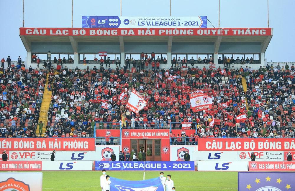 ẢNH: Đánh bại CLB Hải Phòng, CLB Hà Nội có chiến thắng đầu tiên tại V.League 2021 - Ảnh 6.