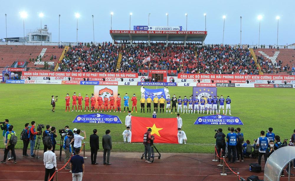 ẢNH: Đánh bại CLB Hải Phòng, CLB Hà Nội có chiến thắng đầu tiên tại V.League 2021 - Ảnh 5.