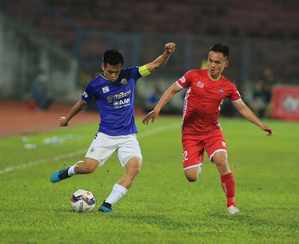 ẢNH: Đánh bại CLB Hải Phòng, CLB Hà Nội có chiến thắng đầu tiên tại V.League 2021 - Ảnh 12.