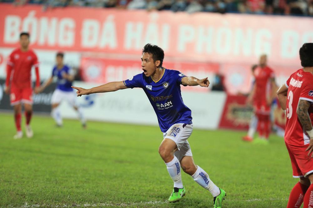 ẢNH: Đánh bại CLB Hải Phòng, CLB Hà Nội có chiến thắng đầu tiên tại V.League 2021 - Ảnh 8.