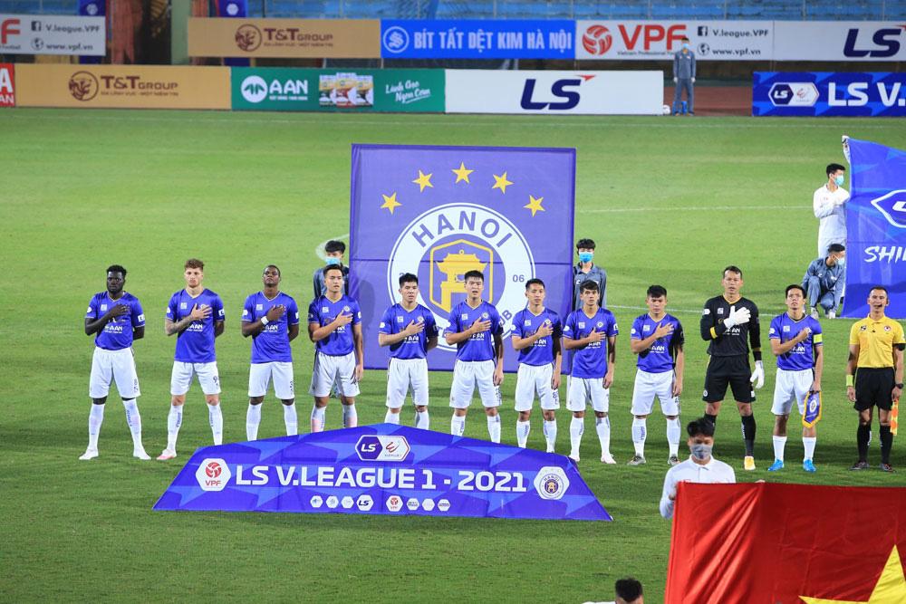 ẢNH: Nhọc nhằn vượt qua Đông Á Thanh Hoá, CLB Hà Nội có chiến thắng thứ 2 liên tiếp - Ảnh 2.