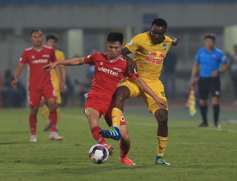 ẢNH: Công Phượng, Văn Thanh lập công, HAGL đánh bại ĐKVĐ V.League Viettel - Ảnh 8.