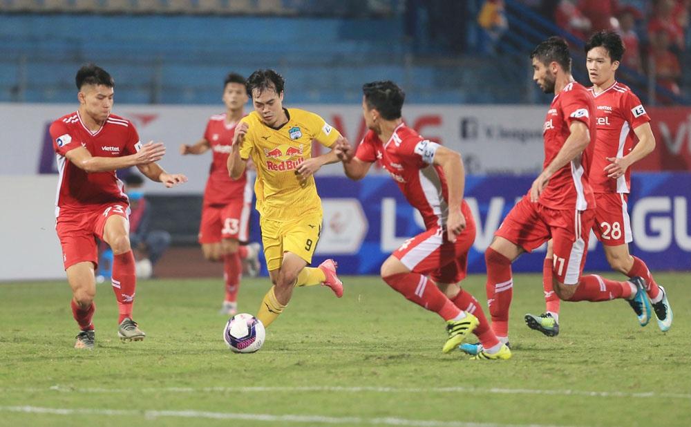 ẢNH: Công Phượng, Văn Thanh lập công, HAGL đánh bại ĐKVĐ V.League Viettel - Ảnh 12.