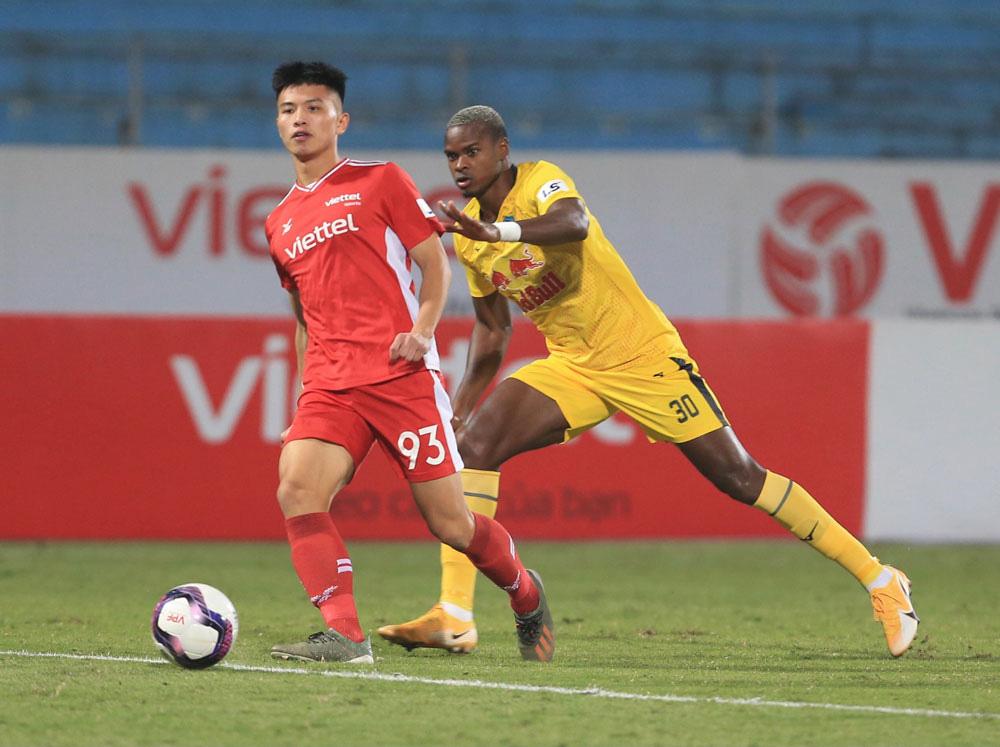 ẢNH: Công Phượng, Văn Thanh lập công, HAGL đánh bại ĐKVĐ V.League Viettel - Ảnh 7.