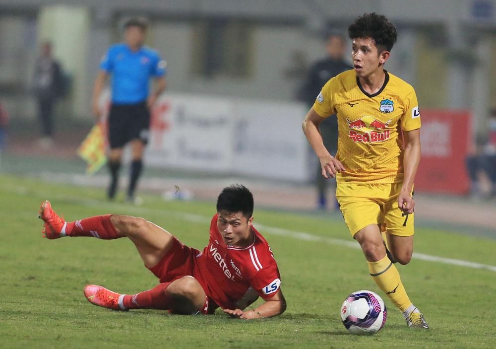 ẢNH: Công Phượng, Văn Thanh lập công, HAGL đánh bại ĐKVĐ V.League Viettel - Ảnh 6.