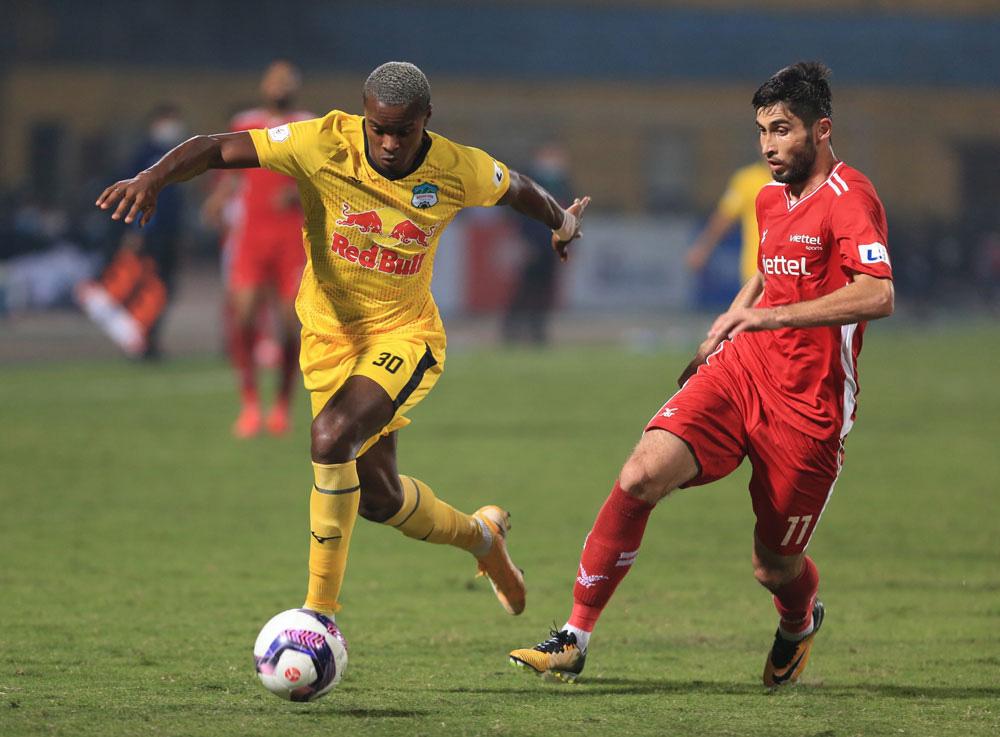 ẢNH: Công Phượng, Văn Thanh lập công, HAGL đánh bại ĐKVĐ V.League Viettel - Ảnh 5.