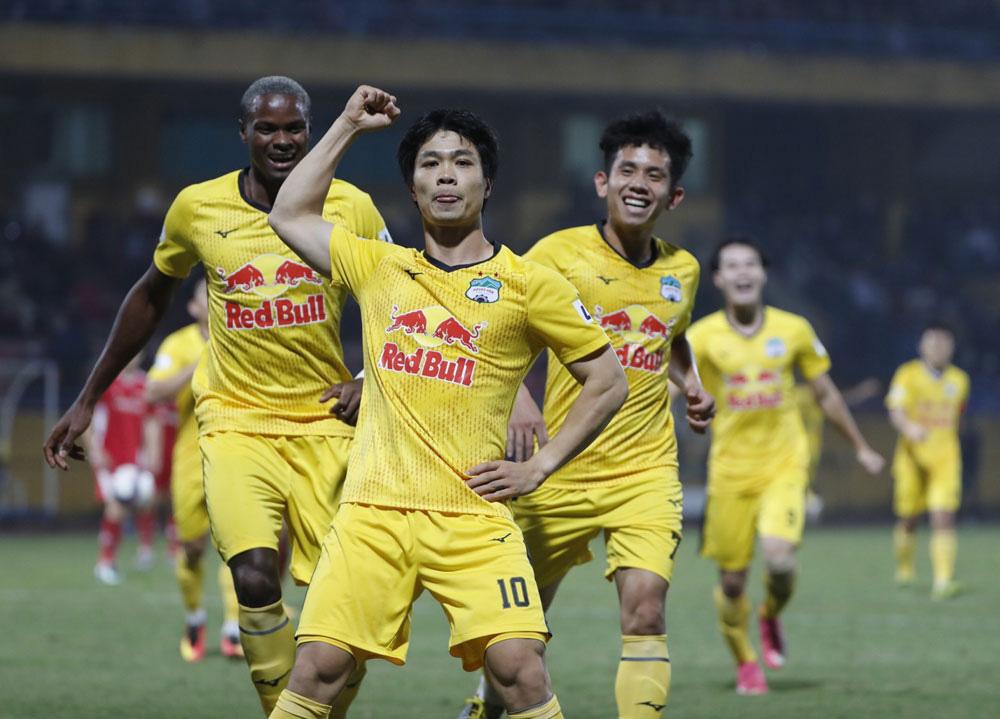 ẢNH: Công Phượng, Văn Thanh lập công, HAGL đánh bại ĐKVĐ V.League Viettel - Ảnh 10.