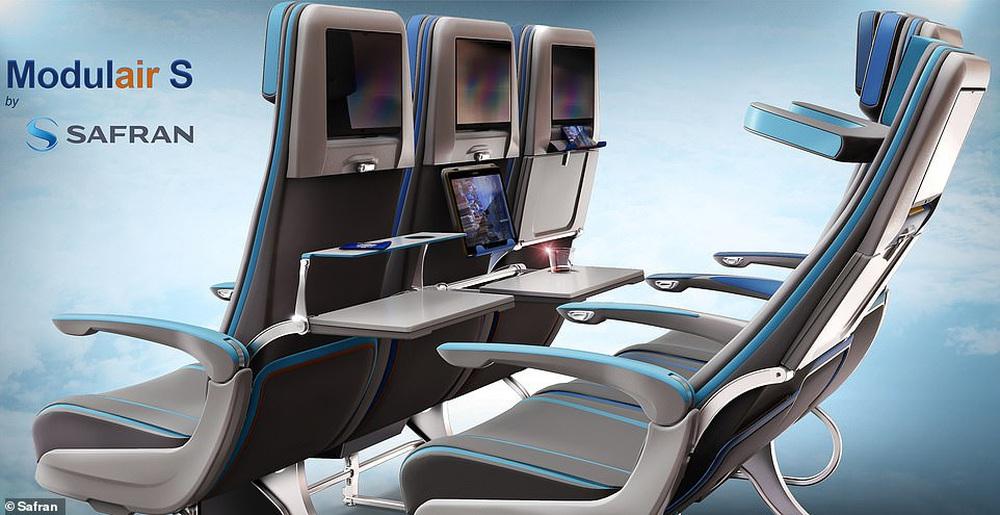 Những thiết kế khoang máy bay ấn tượng: Quán cà phê, giường tầng... trên trời - ảnh 8