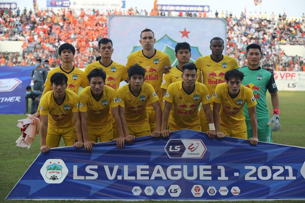 ẢNH: Hoàng Anh Gia Lai vượt qua SHB Đà Nẵng ngay tại Hoà Xuân, giành lại ngôi đầu V.League 2021 - Ảnh 2.