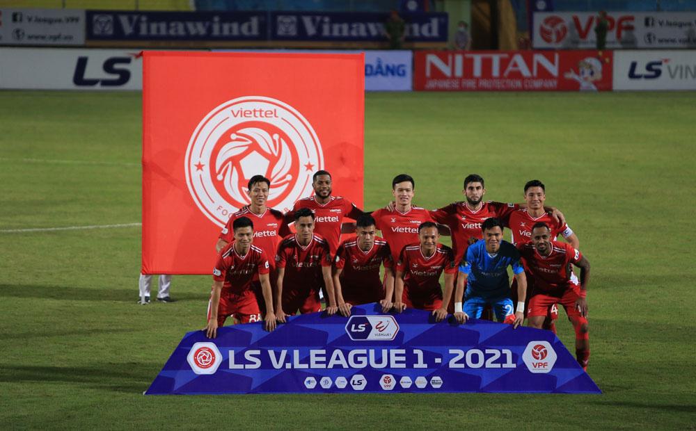 ẢNH: CLB Viettel lần đầu tiên thắng CLB Hà Nội trong trận derby thủ đô ở V.League - Ảnh 3.