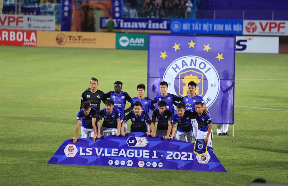 ẢNH: CLB Viettel lần đầu tiên thắng CLB Hà Nội trong trận derby thủ đô ở V.League - Ảnh 2.