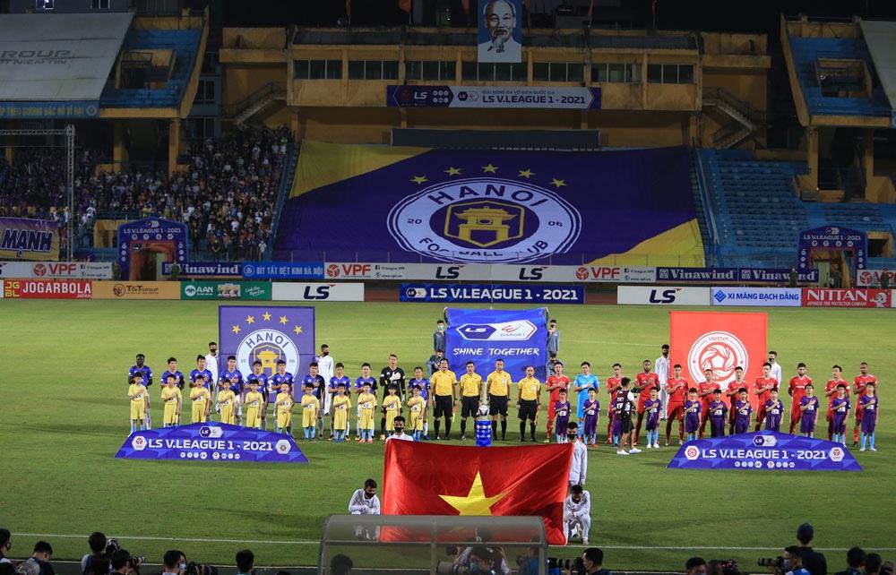 ẢNH: CLB Viettel lần đầu tiên thắng CLB Hà Nội trong trận derby thủ đô ở V.League - Ảnh 1.