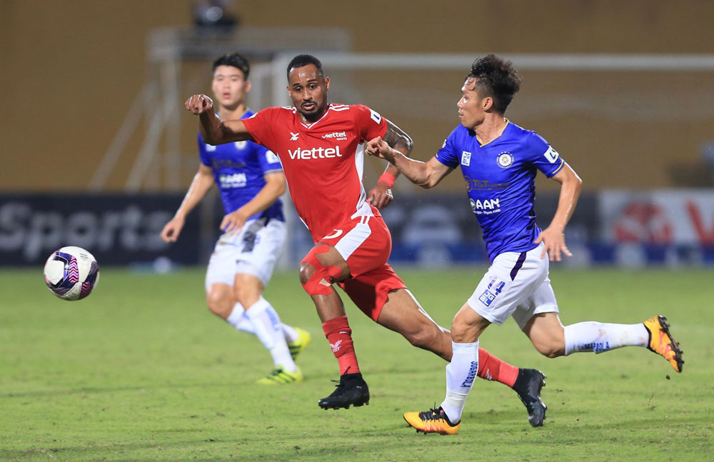 ẢNH: CLB Viettel lần đầu tiên thắng CLB Hà Nội trong trận derby thủ đô ở V.League - Ảnh 10.