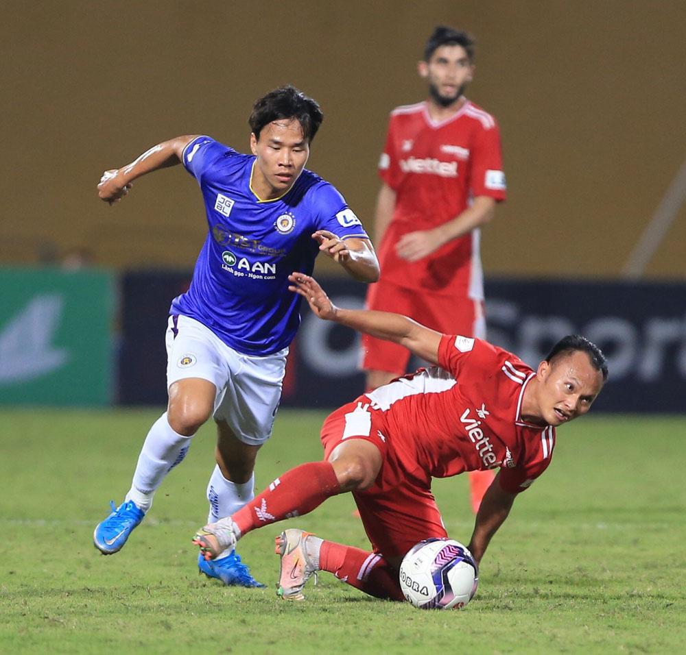 ẢNH: CLB Viettel lần đầu tiên thắng CLB Hà Nội trong trận derby thủ đô ở V.League - Ảnh 8.