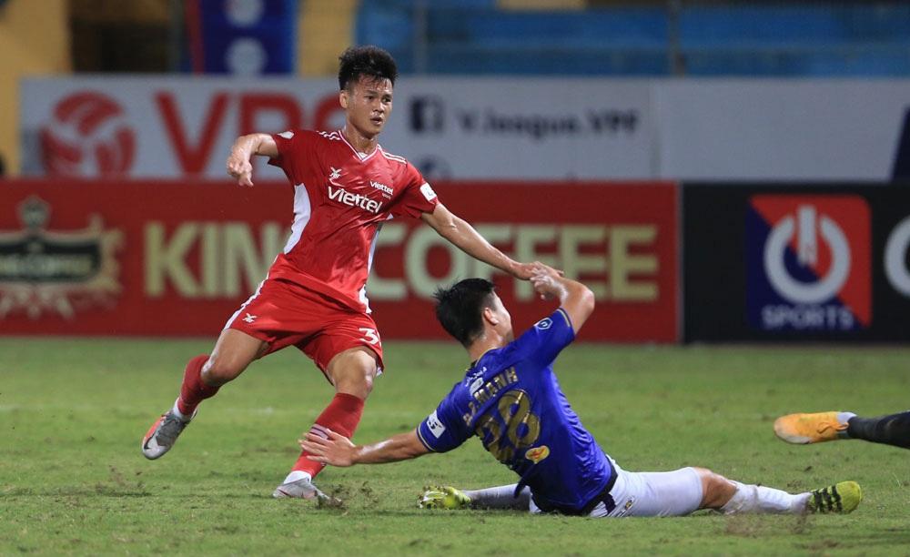ẢNH: CLB Viettel lần đầu tiên thắng CLB Hà Nội trong trận derby thủ đô ở V.League - Ảnh 7.