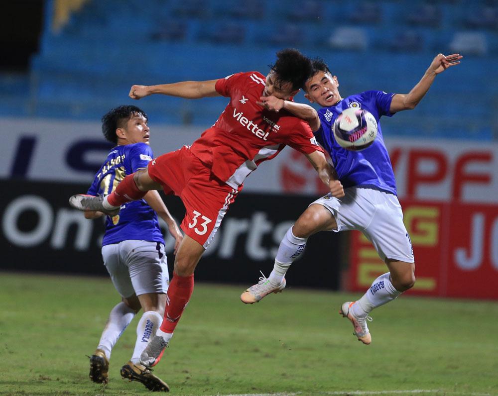 ẢNH: CLB Viettel lần đầu tiên thắng CLB Hà Nội trong trận derby thủ đô ở V.League - Ảnh 5.