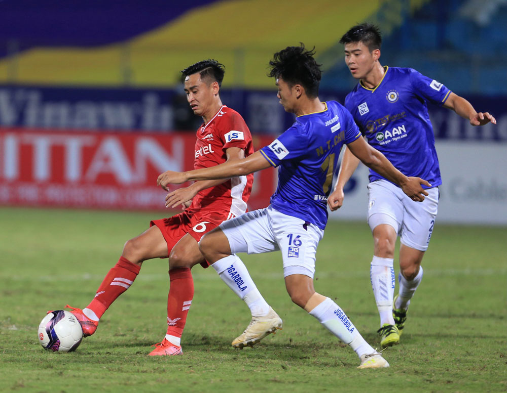 ẢNH: CLB Viettel lần đầu tiên thắng CLB Hà Nội trong trận derby thủ đô ở V.League - Ảnh 4.