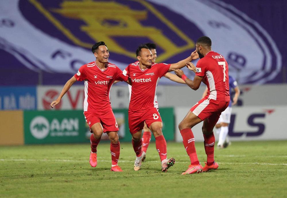 ẢNH: CLB Viettel lần đầu tiên thắng CLB Hà Nội trong trận derby thủ đô ở V.League - Ảnh 12.